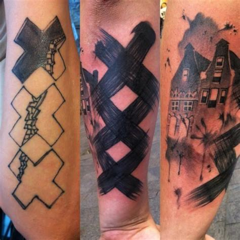 covering tattoos 55 cover up tattoos impressive before after photos
