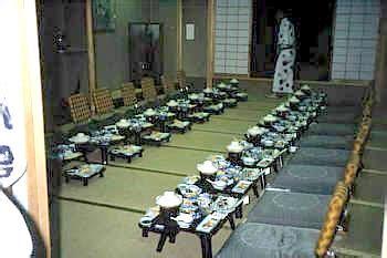 japanischer speisesaal eindr 252 cke einer japanreise 1994