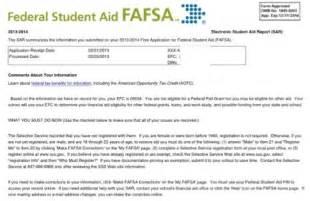 student aid report sample what is the fafsa student aid report sar salt blog teach missouri printing your student aid report sar