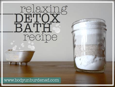 Why Detox Bath by Relaxing Detox Bath Recipe Unburdened