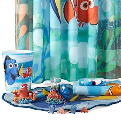 nemo bathroom decor disney 174 finding dory lagoon bath collection jcpenney