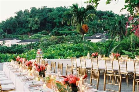 Luxurious wedding locations in Montego Bay, Jamaica: Round
