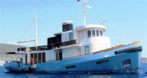luxury tugboat yacht scaro design yacht charter superyacht news
