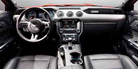 interior of mustang 2015 2015 ford mustang gt review