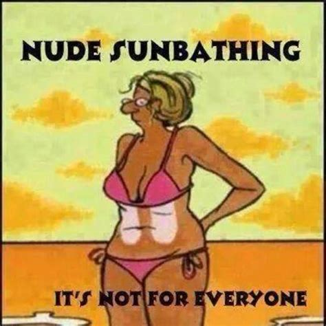 Funny Naked Memes - nude sunbathing cartoon