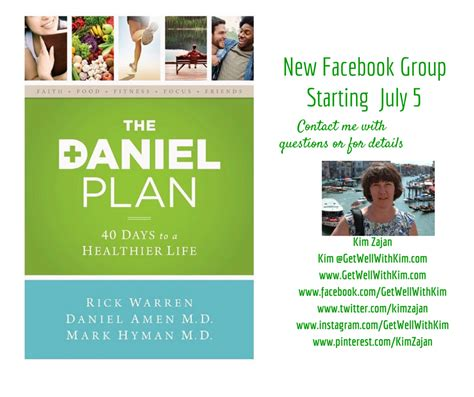 The Daniel Plan Detox Guide by Daniel Plan Study Get Well With