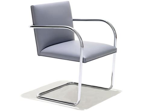 Armchair Reviews Brno Chair With Tubular Steel Frame Hivemodern Com