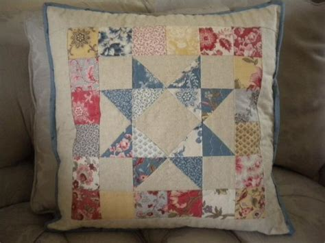 Patchwork Pillow Pattern - scrappy patchwork pillow by sherriquilts craftsy