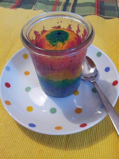 regenbogen kuchen im glas regenbogen zitronenk 252 chlein im glas chibi s candyworld