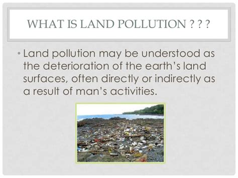Landscape Pollution Definition Land Pollution