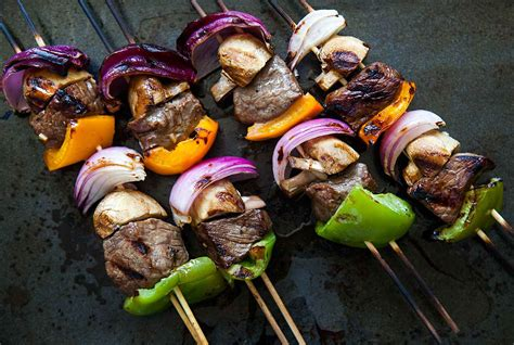 summer on a stick welcome grilling season with these 18 beef kabobs shish kebabs beef kebabs recipe