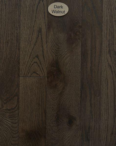 Red Oak, Natural Character, Dark Walnut Stain   Peachey