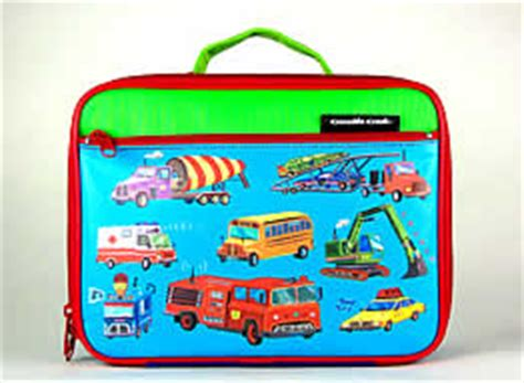 Tangled Soft Lunch Box busy trucks lunch box insulated