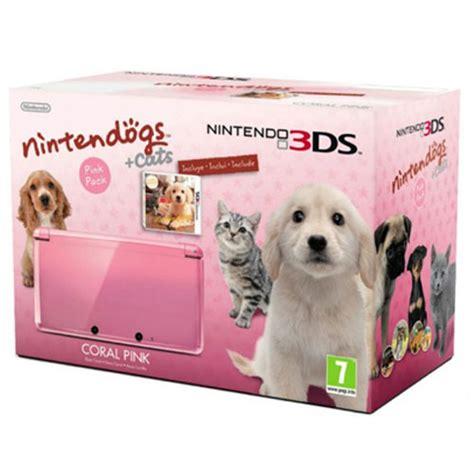 nintendogs 3ds golden retriever nintendo 3ds rosa nintendogs golden retriever en fnac es comprar videoconsola en