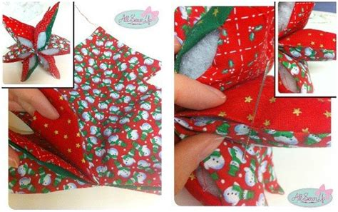 sewing christmas crafts fabric tree decoration