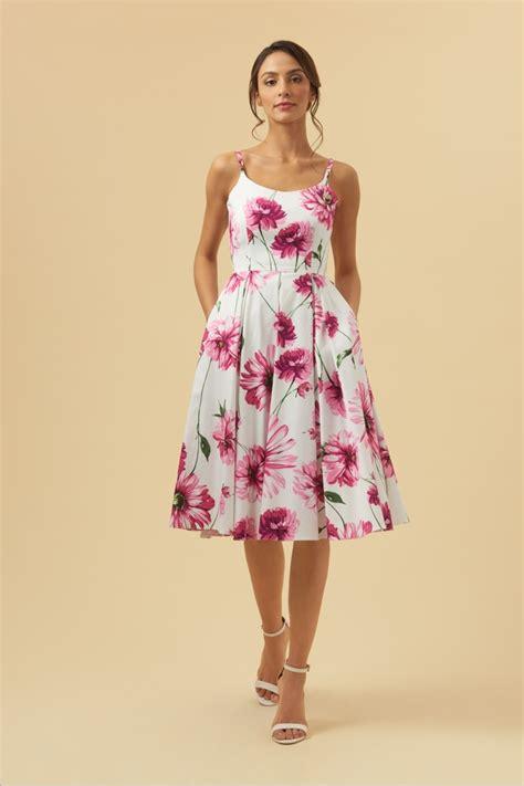 Kinanti Midi Dress Pink Nursingwear dresses the pretty dress company