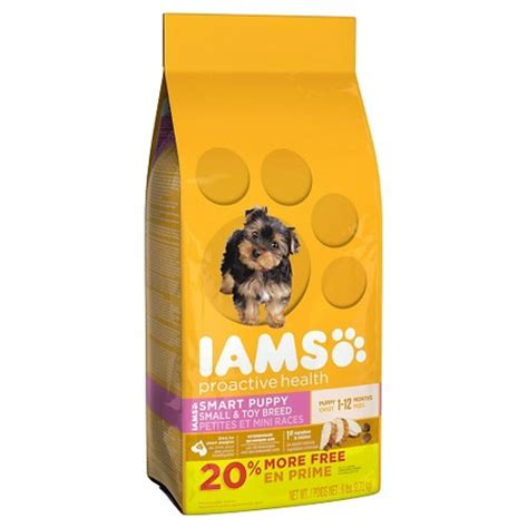 iams food puppy iams proactive health smart puppy small breed 7lb target
