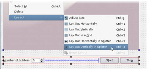 qt designer add layout using layouts in qt designer qt designer manual
