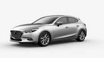 2017 mazda3 hatchback paint color options