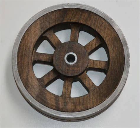 Barn Door Wheels Vintage Wood Wheel Furniture Or Sliding Barn Door Hardware