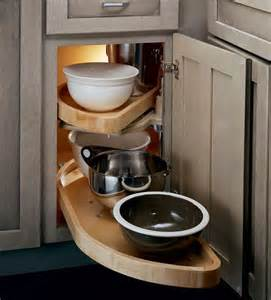 Corner Kitchen Cabinet Storage Solutions Base Blind Corner W Wood Lazy Susan Go Go Gadgets And Just The Coo