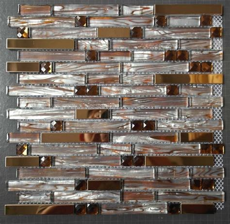 glass mirror mosaic tiles ssmt247 stainless steel tile