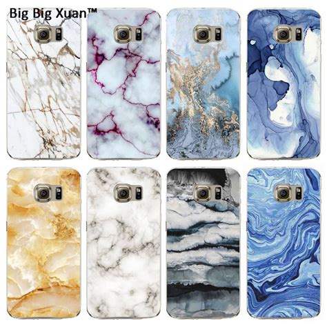 Marble Colorfull Blue Samsung Galaxy S4 Casing Cover Hardcase newest phone cases for samsung s6 s6 edge s6edge plus marble image cover mobile bags