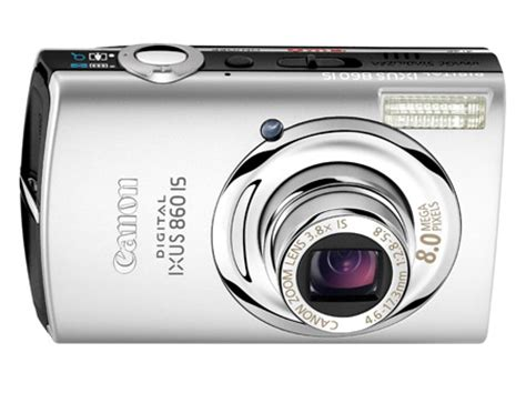 canon ixus 860 is compact camera • the register