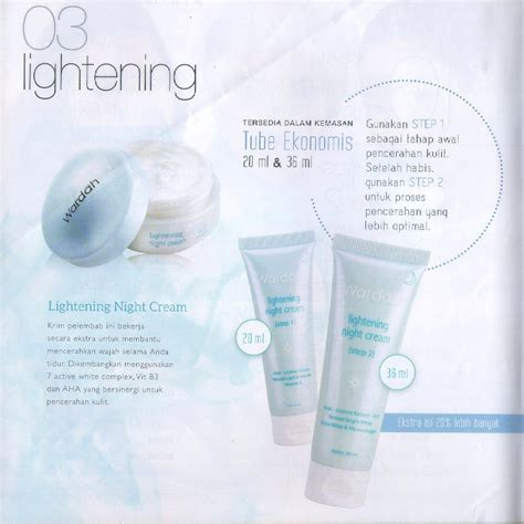 Harga Wardah Step 1 2 3 wardah paket lightening series step 1 20 ml elevenia