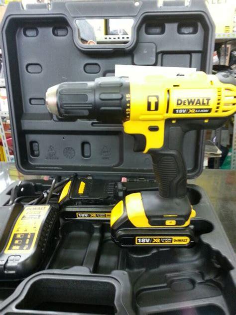 jual dewalt dcd776c2 cordless hammer impact drill mesin bor tembok batere hmh hardware ltc