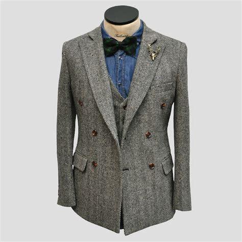 Handmade Vest - vintage wool handmade terno jacket vest
