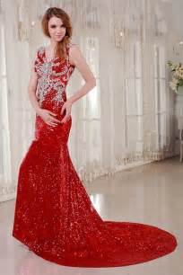 sleeveless red wedding dress sang maestro