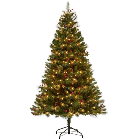 6 feet christmas tree with lughts 5 star 6 5 ft pre lit newburgh pine tree trees stands home appliances shop the