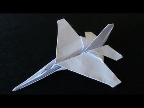 tutorial origami pesawat tempur full download cara membuat mainan anak origami pesawat