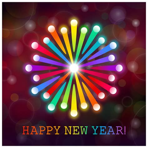 new year to clipart happy new year card