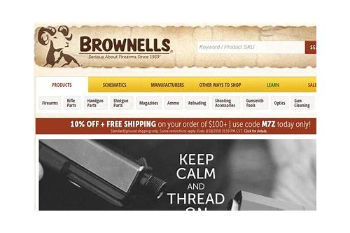 brownells coupon code free shipping 2018