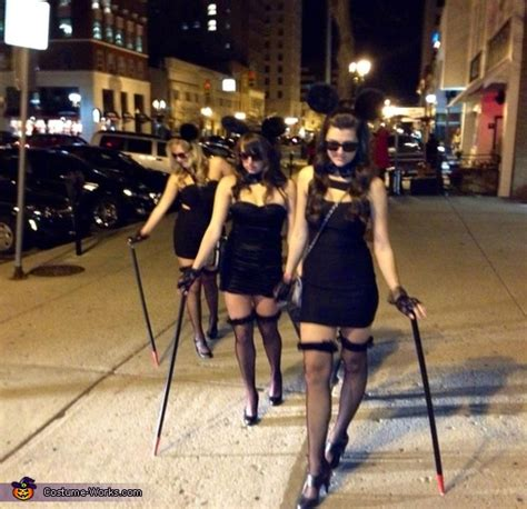 blind mice group costume photo