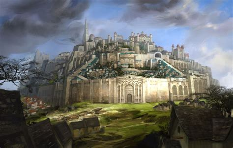 city and guild walled garden dwarven fortress concept search dwarven