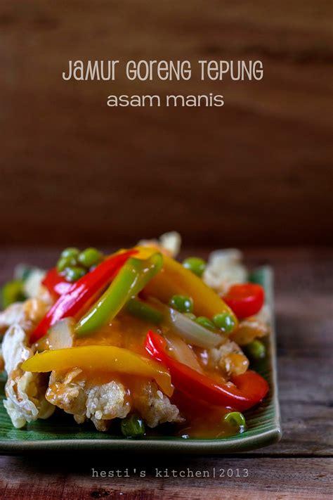 hestis kitchen yummy   tummy jamur goreng