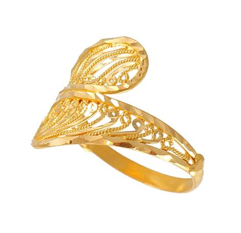 22kt gold fancy ring rilg4694 22kt gold fancy ring