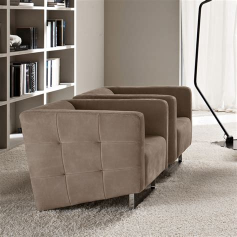 armchair modern madison taupe leather luxury armchair