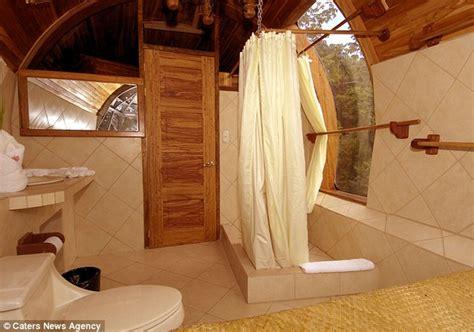 plane bathroom boeing 727 transformed into luxury hotel suite in costa
