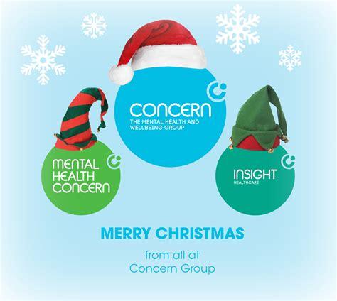 merry christmas mental health concern