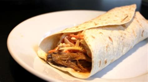 pulled pork wraps whats kp cooking