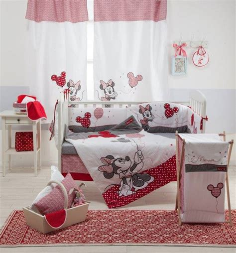 Baby Minnie Mouse Crib Bedding Set Home Accessory Baby Bedding Set Minnie Mouse Minnie Mouse Bedding Baby Bedding