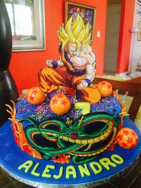 decoracion con esferas de dragon ball z idea decoraci 243 n de cumplea 241 os infantiles dragon ball z