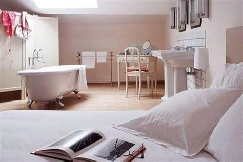 bedroom and bathroom in one room 30 all in one bedroom and bathroom design ideas for space saving bathroom remodeling