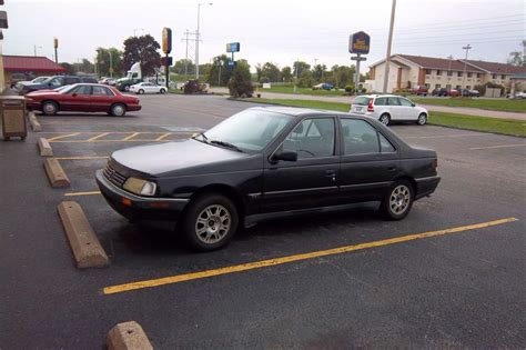 peugeot america curbside 1988 peugeot 405 s then rarer now