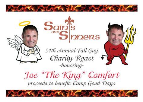 joe comfort rochester ny saints sinners roast of joe quot the king quot comfort sevideo
