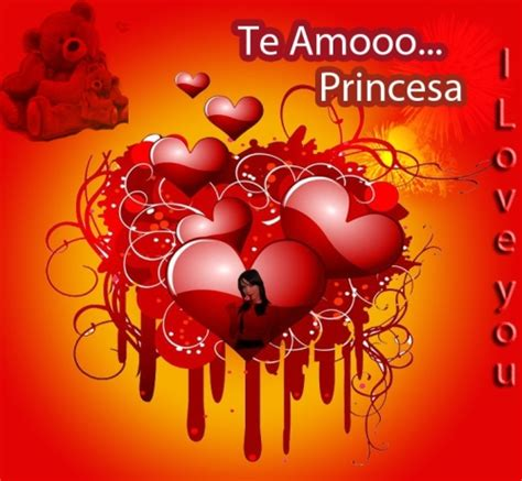 imagenes k digan te amo princesa te amo princesa